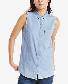 Levi's® Coralie Sleeveless Printed Shirt