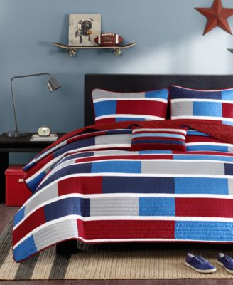 Bradley Full/Queen 4-Pc. Quilted Coverlet Set