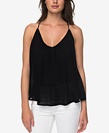 Roxy Juniors' Tie-Back Tank Top