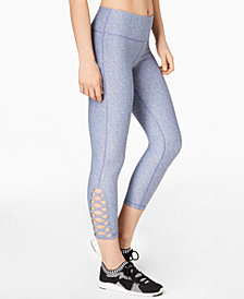 Ideology 7/8 Leggings with Cutouts, Created for Macy's