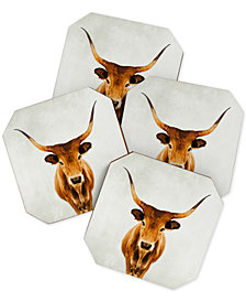 Deny Designs Ingrid Beddoes Mel Coaster Set