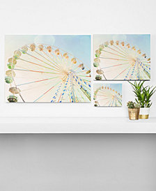 Deny Designs Happee Monkee Ferris Wheel Canvas Collection