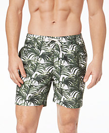 Trunks Surf & Swim Co. Men's Sano Jungle Leaves Printed 8.5'' Swim Trunks