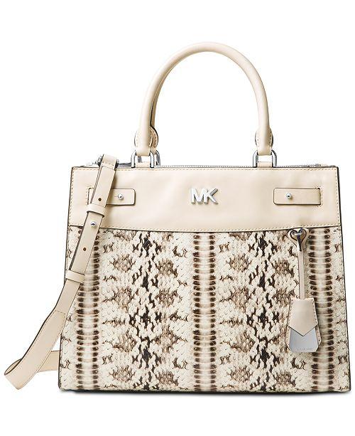 ec137f6e4ee4ca Michael Kors Reagan Large Satchel & Reviews - Handbags & Accessories ...
