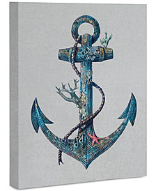 "Deny Designs Terry Fan Lost At Sea 8"" x 10"" Canvas Wall Art"