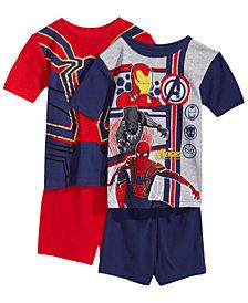 Marvel's® Avengers 4-Pc. Cotton Pajama Set, Little Boys & Big Boys