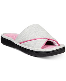 Isotoner Signature Women's Jersey Nicole Slide with Memory Foam