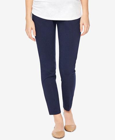 b66d0df7923 Motherhood Maternity Skinny Ankle Pants - Maternity - Women - Macy s