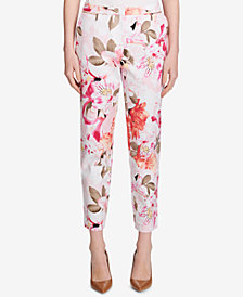 Calvin Klein Zip-Pocket Printed Pants