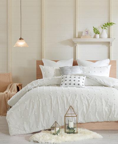Urban Habitat Brooklyn 7-Pc. King/California King Cotton Jacquard Duvet Cover Set