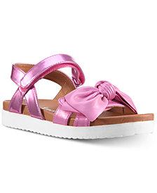 Nina Ankle-Strap Bow Sandals, Toddler & Little Girls & Big Girls