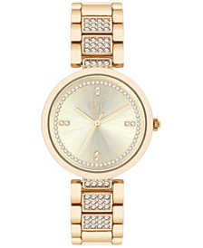 I.N.C. Women's Pavé Bracelet Watch 32mm, Created for Macy's