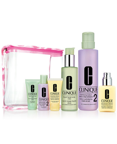 Clinique 7-Pc. Great Skin Everywhere Gift Set - For Drier Skin