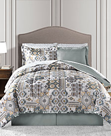 Fairfield Square Collection Waverly Reversible 8-Pc. Queen Comforter Set