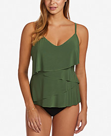 Magicsuit Chloe DD-Cup Bra-Sized Underwire Tankini & Ruched Bottoms