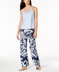 Linea Donatella Juno Crisscross Pajama Set