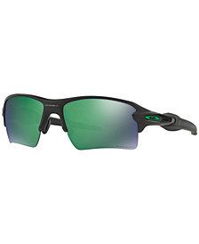 Oakley Polarized Sunglasses, OO9188-77 Flak 2.0 XL