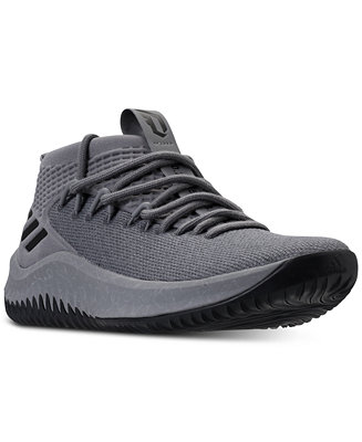 reputable site 59be5 0b90b adidas Men s Dame 4 Basketball Sneakers from Finish Line   Reviews - Finish  Line Athletic Shoes - Men - Macy s