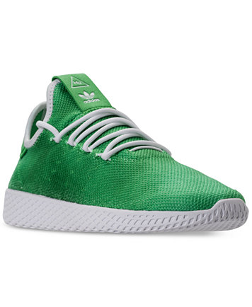 Image 1 of adidas Men's Originals Pharrell Williams Tennis HU Casual  Sneakers from Finish Line