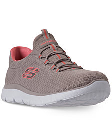 Skechers Women's Summits Wide Width Athletic Sneakers from Finish Line