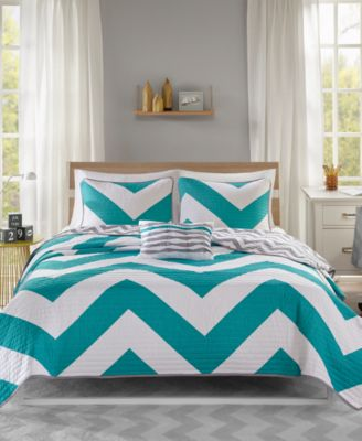 Libra 4-Pc. Full/Queen Coverlet Set