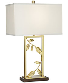 Pacific Coast Golden Leaves Table Lamp