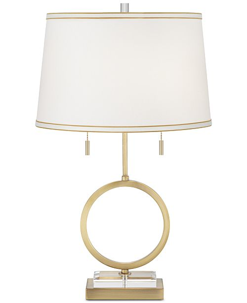 Kathy Ireland Pacific Coast Giro Table Lamp