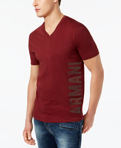 Armani Exchange Men's Graphic-Print T-Shirt