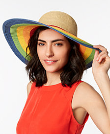 August Hats Rainbow Floppy Hat