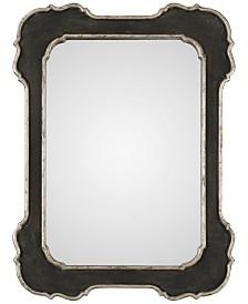Uttermost Bellano Aged Black-Framed Mirror