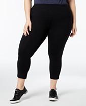 7cbcab9cbdb37 Calvin Klein Performance Plus Size Capri Leggings