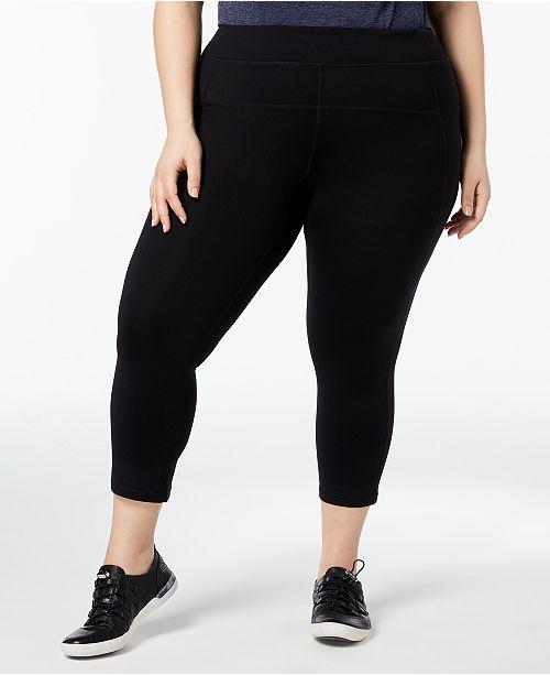 86924010d64dc Calvin Klein Plus Size Capri Leggings   Reviews - Pants   Capris ...