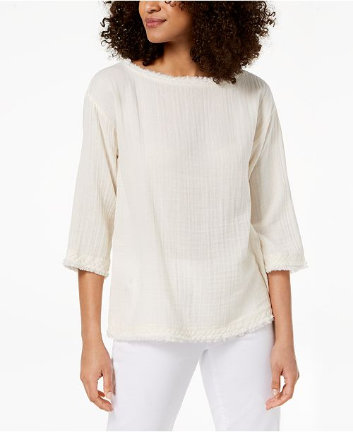 e74a1f6a376 Eileen Fisher. Organic Cotton Tunic. 1 reviews. main image; main image ...