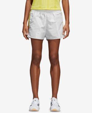 Kendall Fashion League Woven Shorts, Vintage White