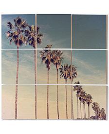 Deny Designs Bree Madden California Summer 9-Pc. Printed Wood Wall Mural