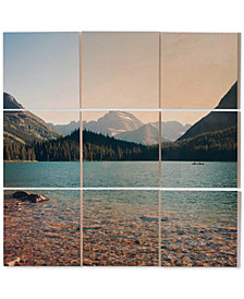 Deny Designs Catherine McDonald Glacier Summer 9-Pc. Printed Wood Wall Mural