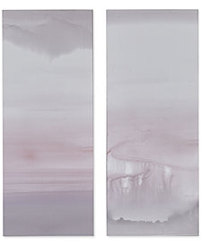 Graham & Brown Harmony Blush Haze Canvas Print, Set of 2