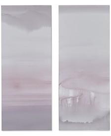 Graham & Brown Harmony Blush Haze Canvas Print, Set of 2