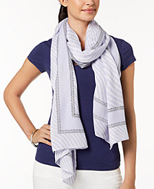 MICHAEL Michael Kors Ribbon Waves Scarf