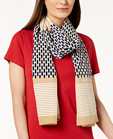 MICHAEL Michael Kors Framed Dots Scarf