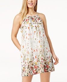 Speechless Juniors' Printed Shift Dress