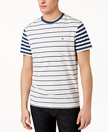 Tommy Hilfiger Men's Suffolk Colorblocked Stripe T-Shirt, Created for Macy's