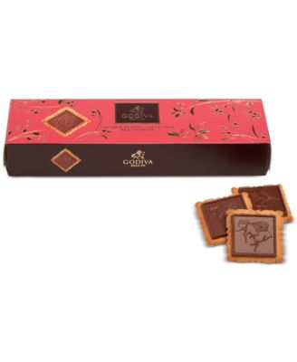 Lady Godiva 12-Pc. Milk Chocolate Biscuits