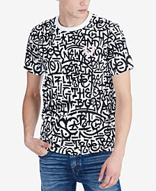 True Religion Men's Graffiti T-Shirt