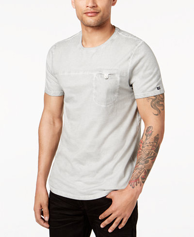 Buffalo David Bitton Men's Nyakine Pocket T-Shirt
