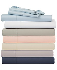 Split King 5-pc Sheet Sets, 400 Thread Count 100% Cotton Sateen