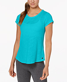 Calvin Klein Performance Overlapping-Back T-Shirt