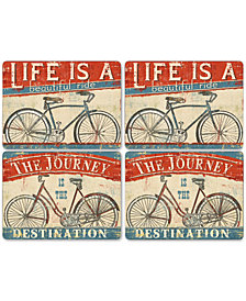 Pimpernel Beautiful Ride Placemats, Set of 4
