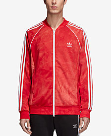 adidas Originals Men's Hu Holi Printed Terry Track Jacket