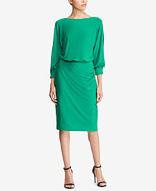Lauren Ralph Lauren Boatneck Jersey Dress